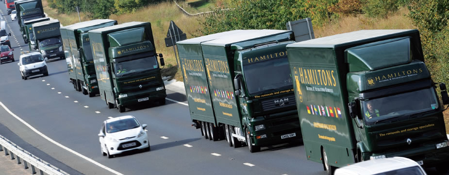 Removals to Europe, UK and Overseas Moving Service