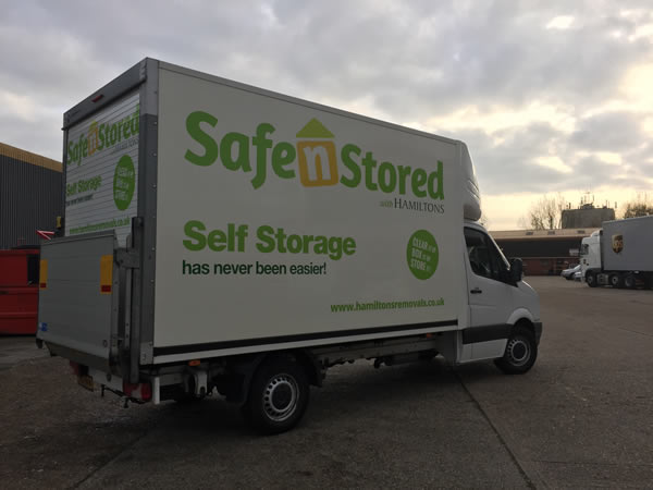 VW Crafter Luton Van with tail-lift